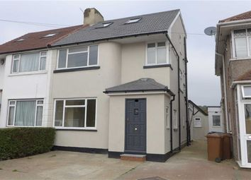Thumbnail 4 bed semi-detached house for sale in Weston Drive, Stanmore, Middlesex
