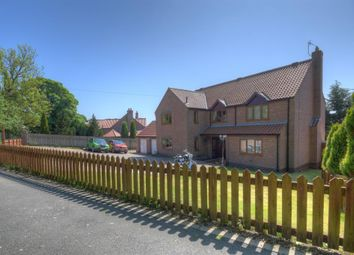 Thumbnail 4 bed detached house for sale in Church Lane, Carnaby, Bridlington