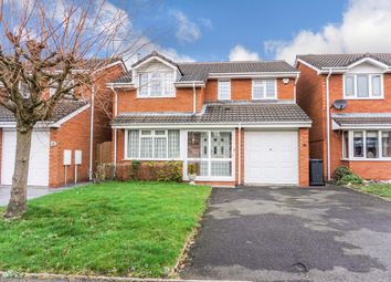 Thumbnail 4 bed detached house for sale in Cornwall Avenue, Fazeley, Tamworth