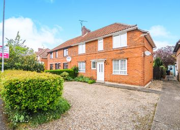 Thumbnail 3 bedroom semi-detached house for sale in Newtown, Thetford