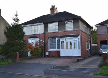 Thumbnail 3 bed semi-detached house for sale in High Street, Silverdale, Newcastle