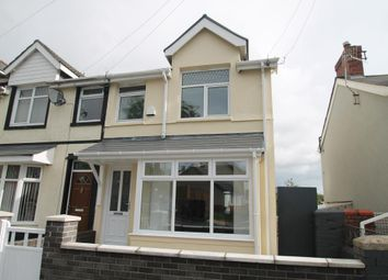 Thumbnail 3 bed end terrace house for sale in Ashvale, Tredegar
