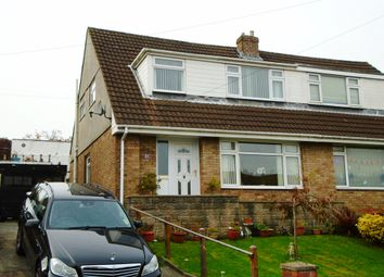 Thumbnail 3 bed semi-detached house for sale in Cleviston Park, Llangennech, Llanelli, Carmarthenshire
