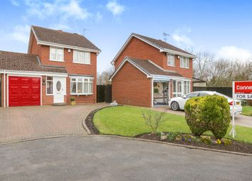 Thumbnail 3 bed detached house for sale in Wychall Drive, Moseley Meadows, Wolverhampton