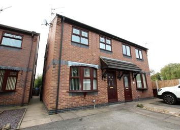 Thumbnail 3 bed semi-detached house to rent in Brambles Court, Well Street, Stoke-On-Trent