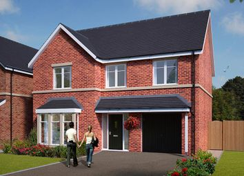"Thumbnail 4 bed detached house for sale in ""The Norbury"" at Standbridge Lane, Crigglestone, Wakefield"