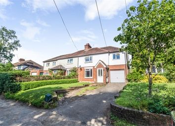 Thumbnail 4 bed semi-detached house for sale in Alton Road, South Warnborough, Hook, Hampshire