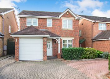 Thumbnail 4 bed detached house for sale in Rossett Close, Gamston