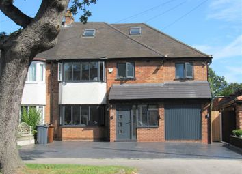 Thumbnail 5 bed semi-detached house for sale in Danford Lane, Solihull