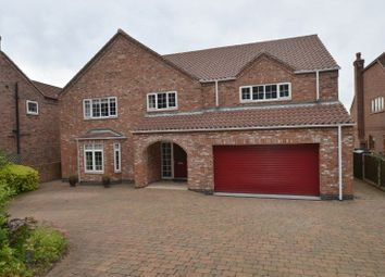 Thumbnail 5 bed detached house for sale in Station Road, Whitton, Scunthorpe