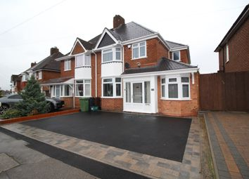 Thumbnail 4 bed semi-detached house to rent in Summerfield Road, Solihull