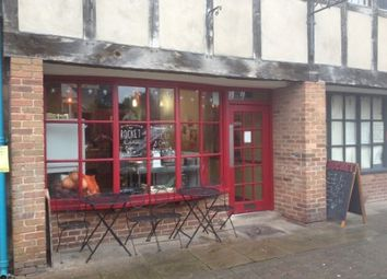 Thumbnail Restaurant/cafe for sale in Church Street, Hereford