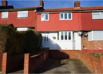 Thumbnail 3 bed terraced house for sale in Copperfield Road, Rochester