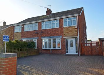 Thumbnail 3 bed semi-detached house for sale in Morecambe Avenue, Scunthorpe