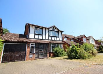 Thumbnail 4 bed detached house for sale in Northfield, Lightwater