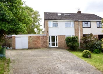 Thumbnail 3 bed semi-detached house for sale in Downs View, Burham, Rochester