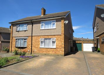 Thumbnail 4 bed semi-detached house for sale in Rockfield Avenue, Ware