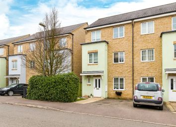 Thumbnail 4 bed town house for sale in Wellbrook Way, Girton, Cambridge