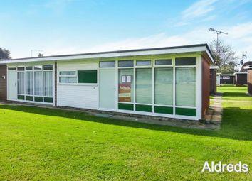 Thumbnail 2 bedroom semi-detached house for sale in Broadside Chalet Park, Norwich