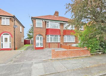 Thumbnail 3 bed semi-detached house to rent in Westleigh Gardens, Edgware
