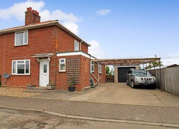 Thumbnail 4 bed semi-detached house for sale in Highfields, Tharston, Norwich