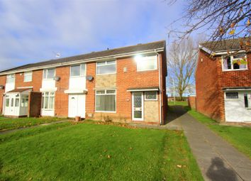 Thumbnail 3 bed end terrace house to rent in Whitby Way, Darlington