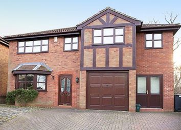Thumbnail 5 bedroom detached house for sale in Clough Hall Road, Kidsgrove
