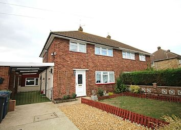 Thumbnail 3 bed semi-detached house for sale in Coronation Avenue, Huntingdon