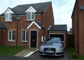 Thumbnail 2 bed semi-detached house for sale in Oakroyd Crescent, Grimethorpe, Barnsley