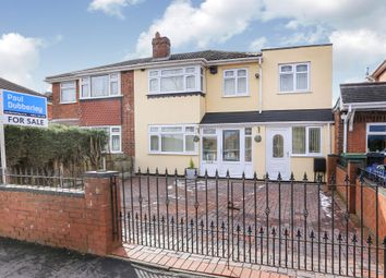 Thumbnail 5 bed semi-detached house for sale in Paul Street, Coseley, Bilston