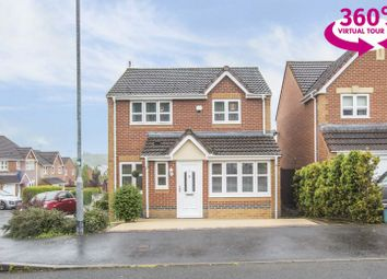Thumbnail 3 bedroom detached house for sale in Stockwood Close, Langstone, Newport