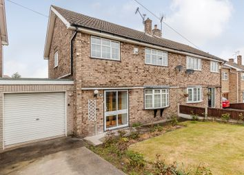 Thumbnail 3 bed semi-detached house for sale in Chatsworth Road, Worksop