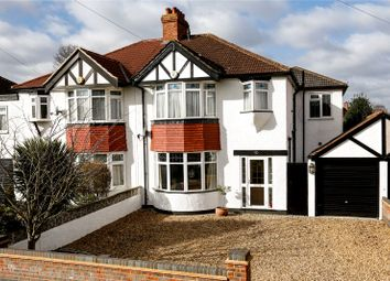 Thumbnail 4 bed semi-detached house for sale in Lyndhurst Avenue, Surbiton