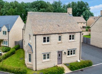 Thumbnail 4 bed detached house for sale in Teal Way, South Cerney, Cirencester