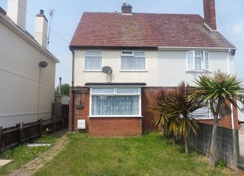 Thumbnail 2 bed semi-detached house for sale in Madeira Road, Holland-On-Sea, Clacton-On-Sea