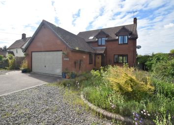 Thumbnail 4 bedroom detached house for sale in The Street, Whatfield, Ipswich