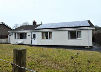 Thumbnail 3 bed detached bungalow for sale in Llangwyryfon, Aberystwyth