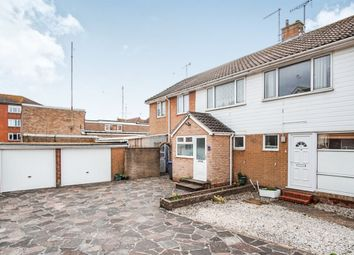 Thumbnail 4 bed semi-detached house for sale in Pembury Close, Broadwater, Worthing