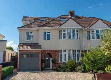 Thumbnail 4 bed semi-detached house for sale in Oakdale Court, Downend, Bristol