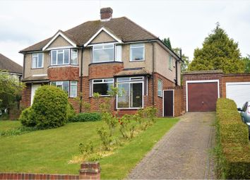 Thumbnail 3 bed semi-detached house for sale in Croham Valley Road, South Croydon