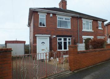 Thumbnail 2 bed semi-detached house for sale in Cotton Road, Sandyford, Stoke-On-Trent