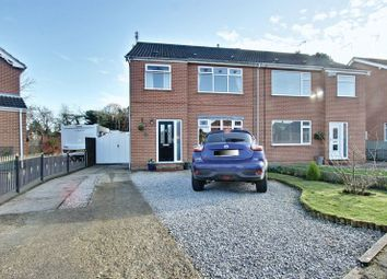 Thumbnail 3 bed semi-detached house for sale in Churchill Avenue, Cottingham