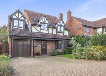 Thumbnail 4 bed detached house for sale in Dells Lane, Biggleswade