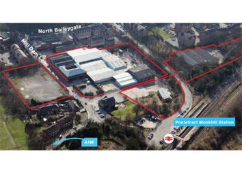 Thumbnail Warehouse for sale in Various Units, Mill Dam Lane, Pontefract, West Yorkshire, England