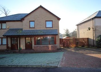 Thumbnail 3 bed semi-detached house to rent in Castledyke Road, Carstairs