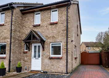 Thumbnail 2 bed end terrace house for sale in Stonefield, Bar Hill, Cambridge