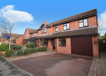 Thumbnail 4 bed detached house for sale in Bramley Close, Gunthorpe, Nottinghamshire