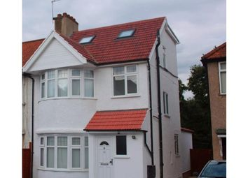 Thumbnail 3 bed flat to rent in Hill View Gardens, The Hyde, London