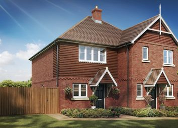 Thumbnail 2 bed semi-detached house for sale in Skylark Place, Badshot Lea, Farnham