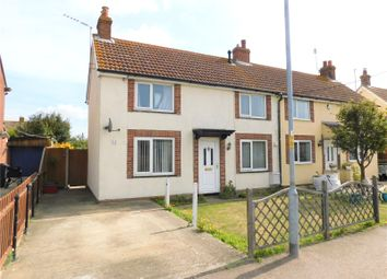 Thumbnail 2 bed semi-detached house for sale in Lodge Road, Little Oakley, Harwich, Essex